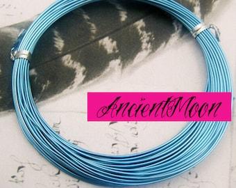 12 mt alluminio verde anallergico per bigiotteria spessore 1 mm artistic green  aluminium wire making bijoux hypoallergenic