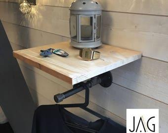 Wall shelf / garment rack
