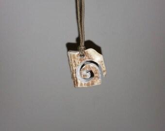 Deer antler necklace/ pendant