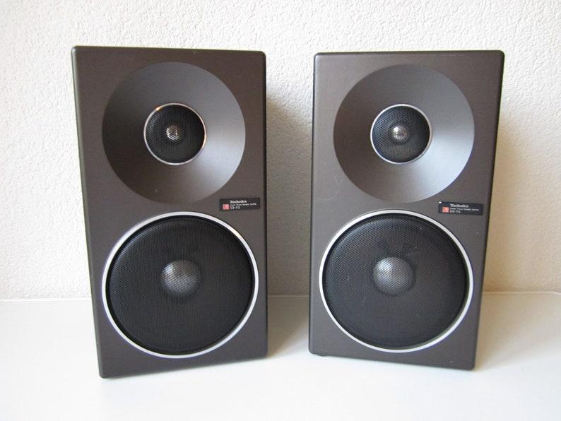 Technics SB-F2 speaker speaker Linear Phase 2 way System 1978 Japan