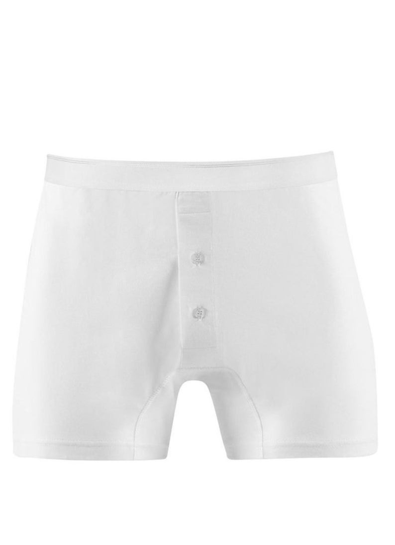 1940s Men's Underwear: Briefs, Boxers, Unions, & Socks Sunspel Superfine Cotton 2 Button front trunk $49.70 AT vintagedancer.com