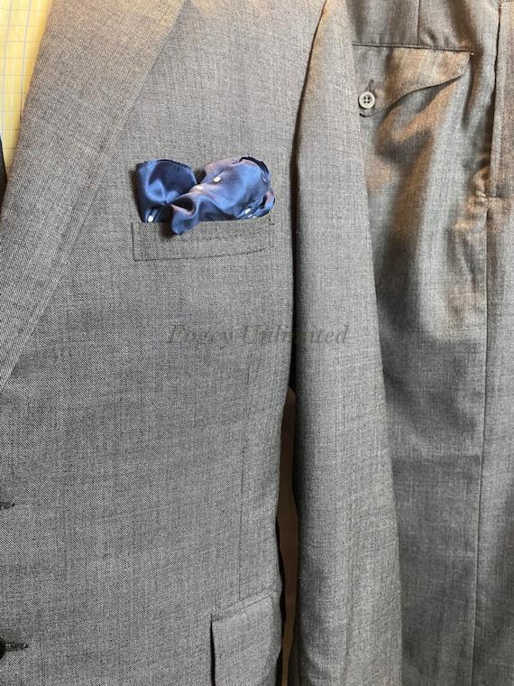 Vintage 3 Piece Grey Suit 38-40C/34W (RefPK3WC)