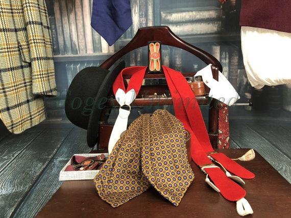 Vintage Gentlemans CravatScarfAscot