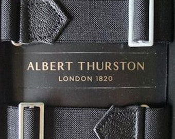Albert Thurston Adjustable Elastic ARMBANDS/Garters for your shirt sleeves. Colours