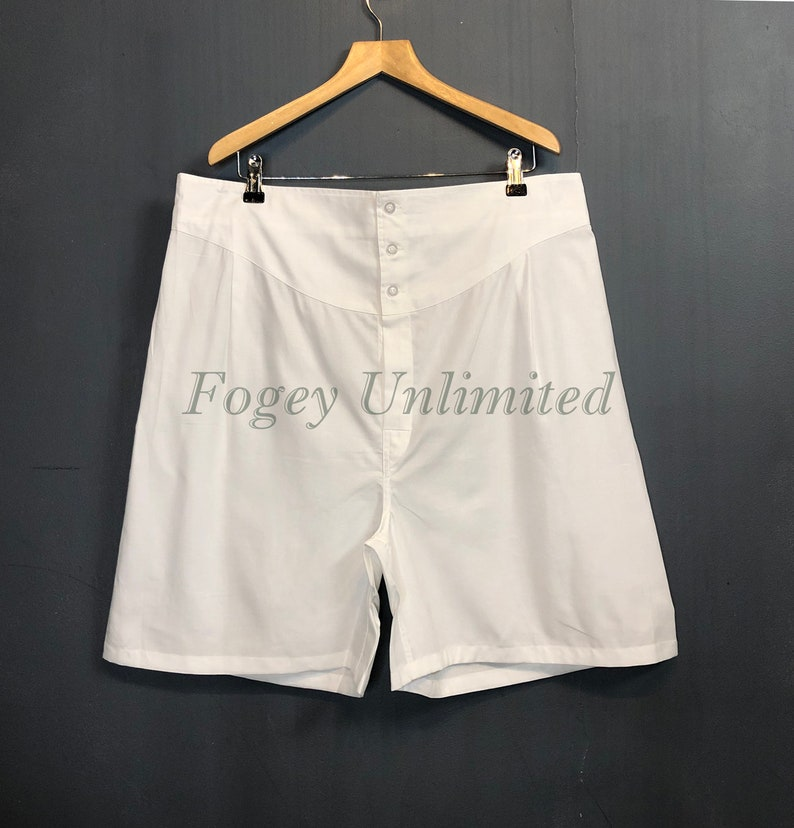 1940s Men's Underwear: Briefs, Boxers, Unions, & Socks The Fogey Unlimited Boxer Shorts. Traditional Longer cut style Yoke front Boxer Shorts. World Exclusive $56.80 AT vintagedancer.com