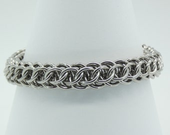 Stainless Steel chainmail bracelet mail Renaissance GSG chainmaille