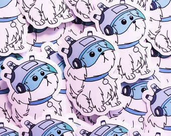 """Rick and Morty """"Snuffles"""" Sticker"""