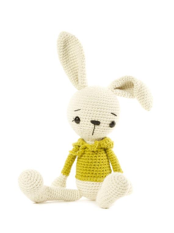 conejo de peluche animales de ganchillo conejo amigurumi | Etsy