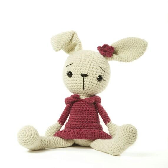 Coneja de ganchillo regalo de Pascua animales de peluche | Etsy