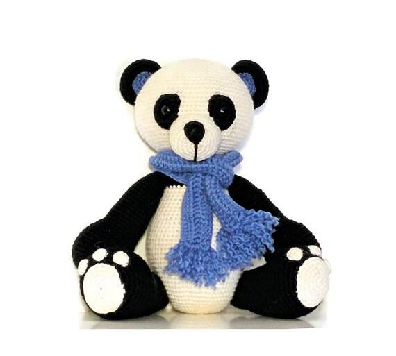 Amigurumi Panda-Bär Stofftiere Kuscheltier häkeln Amigurumi | Etsy