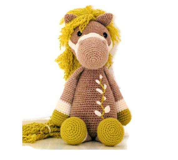 Amigurumi Pferd gehäkelt nette weiche Spielzeug Häkeln | Etsy