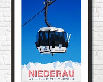 Seefeld Ski ResortPoster