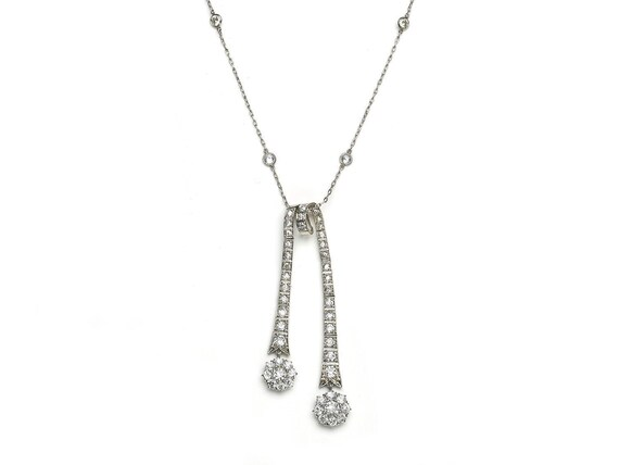 Diamond Négligée Necklace
