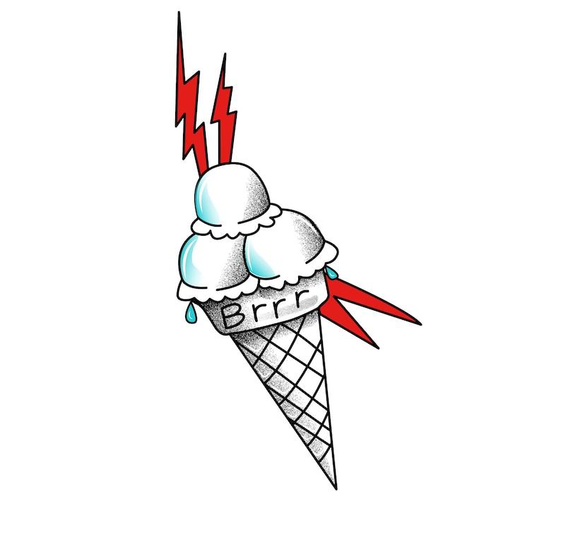 0e69031d117 Gucci Mane Ice Cream Temporary Tattoo