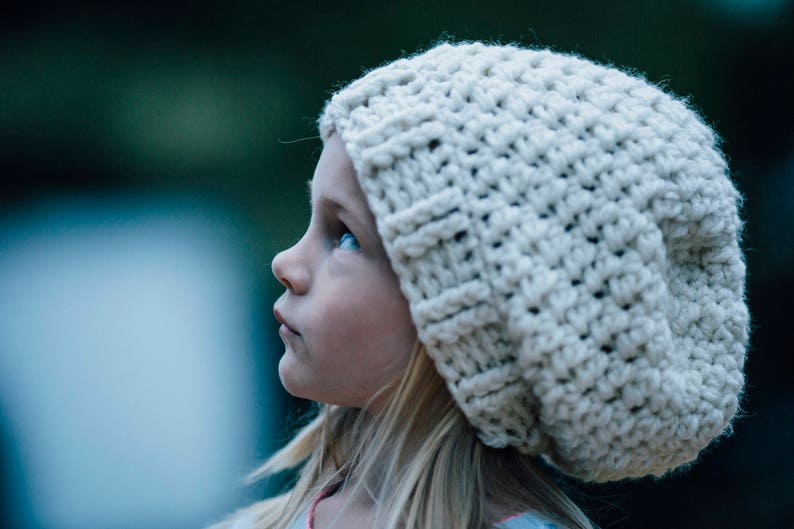 Girl/'s Slouchy Hat