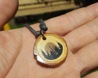 Forest Silhouette pendant