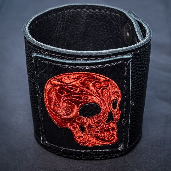 Wrist Cuff Viking Celtic Biker,Leather Biker Cuff Perfect for Archery and Larping HandmadeLeather  Arm Protector Guard Bracers Wristband