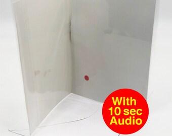 Audio Greeting Card - 10 Second Audio