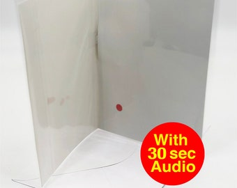 Audio Greeting Card - 30 Seconds Audio