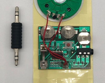 DIY Recordable Audio Module - 30 Seconds - Record Direct from Phone and PC