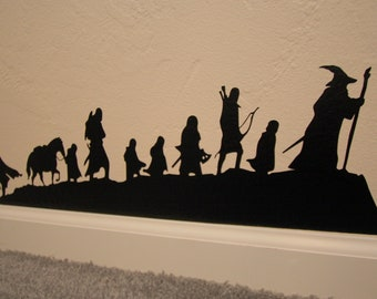 Lord of the Rings Silhouette Decal