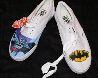 batman vans shoes