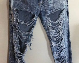 Ripped Skinny Jeans. Size: 11/12