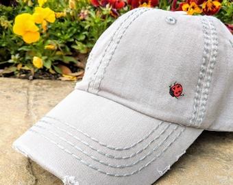 bc21942bce3 Women s Ladybug Baseball Cap
