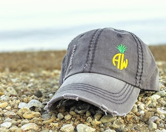Teach Like A Pineapple Outdoor Snapback Sandwich Cap Adjustable Baseball Hat Plain Cap