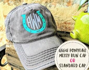 a8c7dab712f Monogrammed Horseshoe Hat