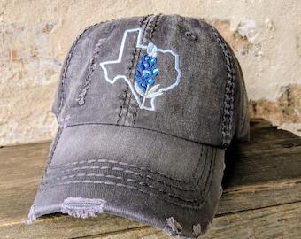 Texas Bluebonnet Baseball Cap e9072ef2ad