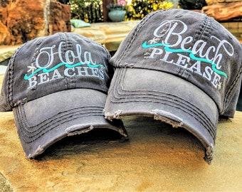 c4724997e2702 Beach Please baseball cap