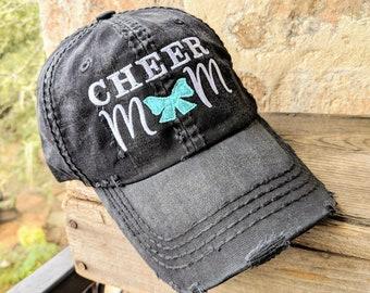 fb7c3e21c03ce7 Cheer mom baseball cap, cheer mom hat, cheerleading baseball cap,  cheerleading hat, cheerleading gift, cheer birthday gift, cheer hat