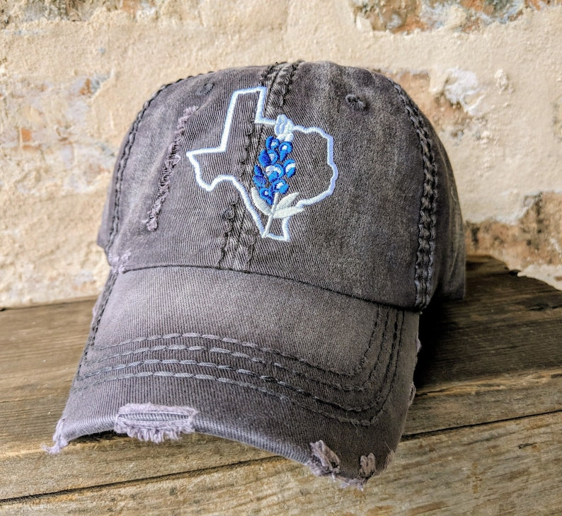 f40091f742b73 Texas Bluebonnet Baseball Cap Texas home baseball cap