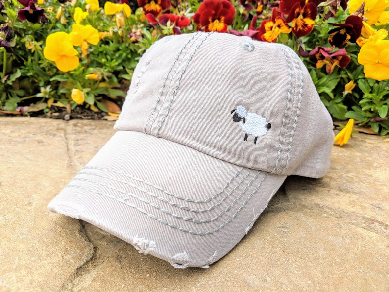 Women's Sheep Baseball Cap Women's Sheep Hat Sheep image 0