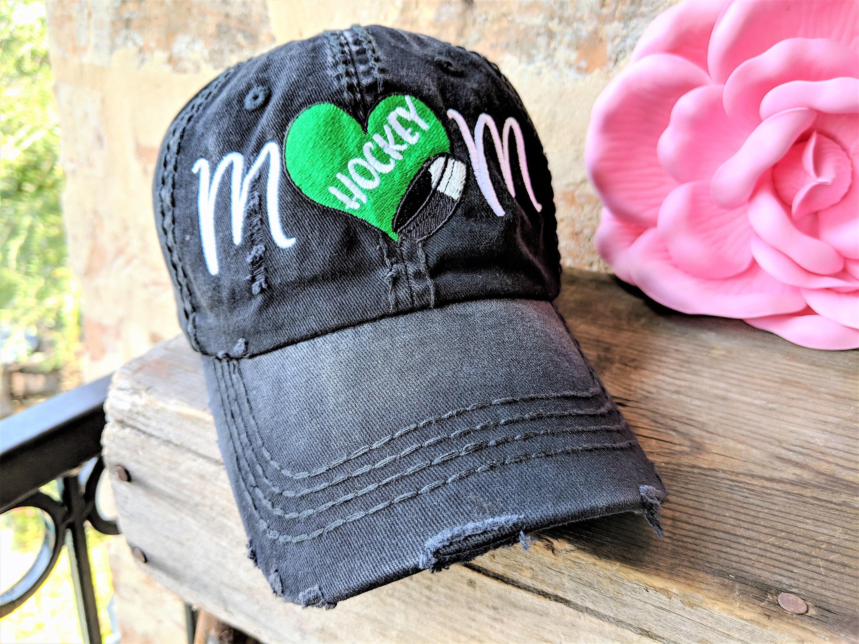 900ec085b Hockey Mom Hat, Hockey Mom Baseball Cap, Women's Hockey Hat, Hockey Hat,  Hockey Mom, #hockeymom, hockey mom gift, hockey mom clothing