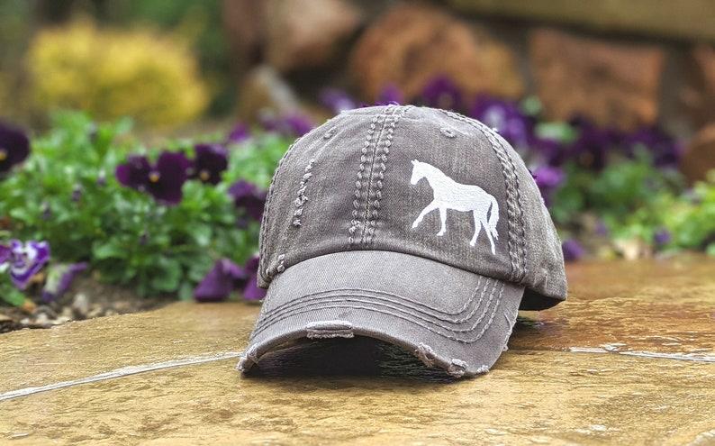 Women's Horse baseball cap women's horse hat horse