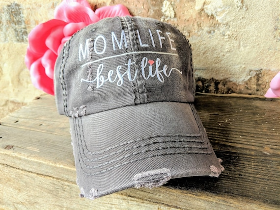 Mom Life Baseball Cap Mom Baseball Cap Custom Mom Baseball  aad874b16b0