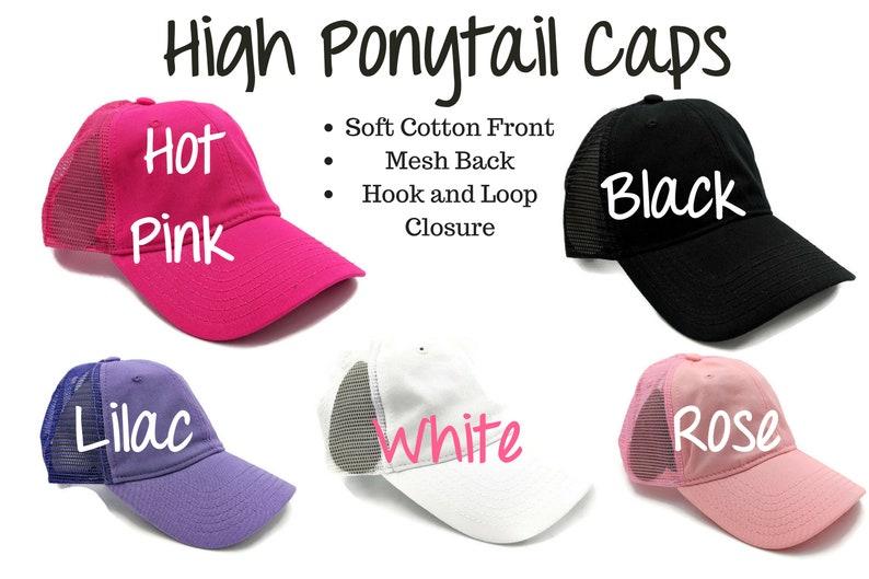 d089c217e29 Mesh Ponytail Cap High Ponytail Cap High Ponytail Hat Messy
