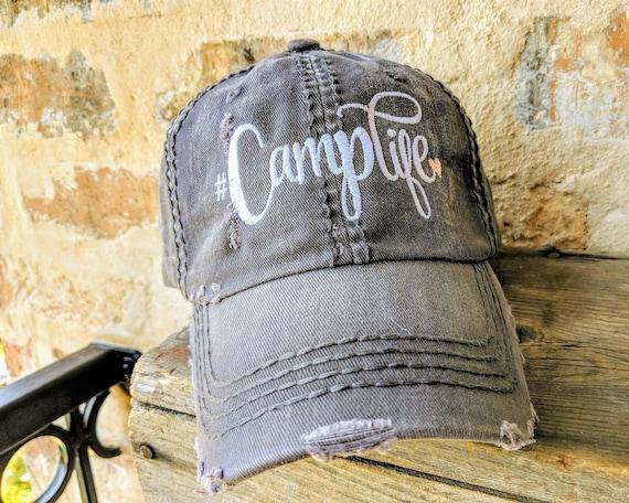 Women s Camping Baseball Cap Camping Baseball Cap  e0d7d734ca4