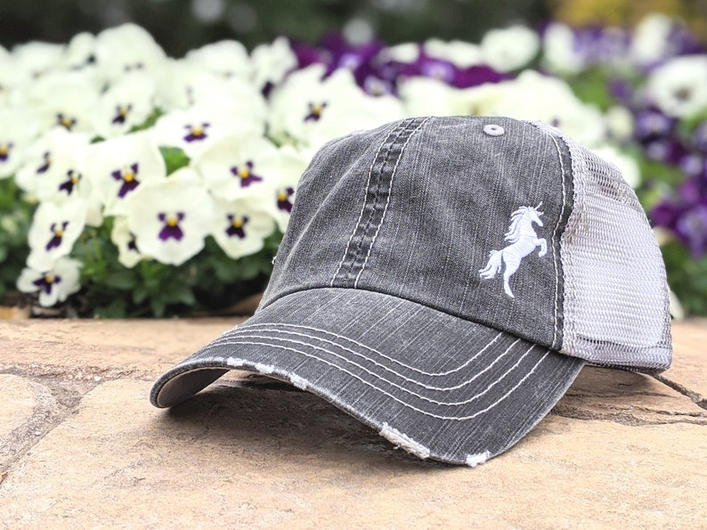 Women's Unicorn Baseball Cap Unicorn Hat Unicorn Gift image 0