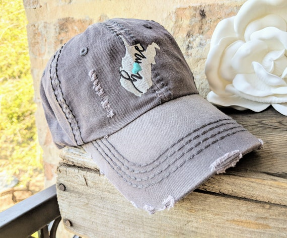 Awesome Womens West Virginia Hat West Virginia Home Hat West Virginia Baseball Cap West Virginia Birthday Gift West Virginia Clothing Wv Hat Interior Design Ideas Philsoteloinfo