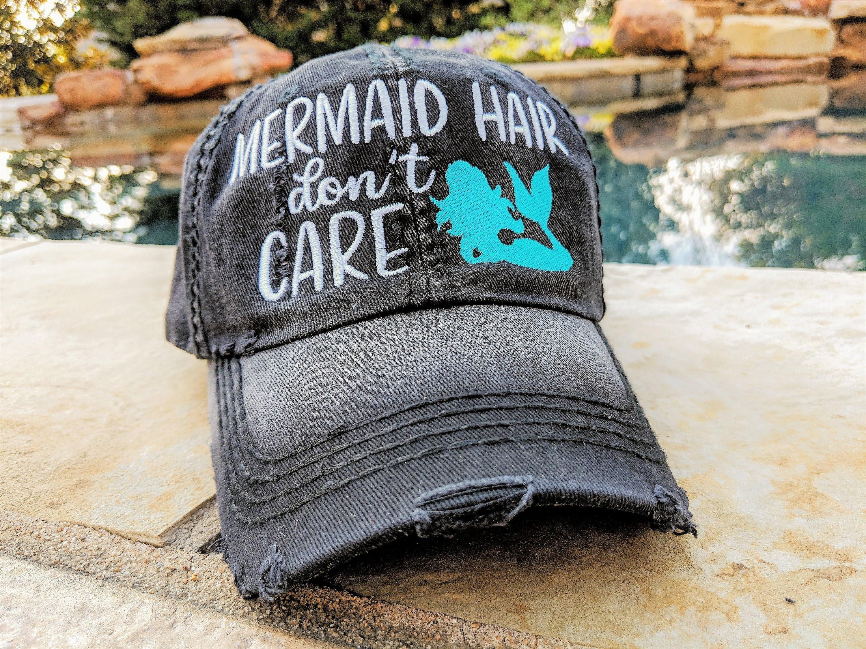 Women s mermaid baseball cap women s mermaid hat  c022ed5fca4