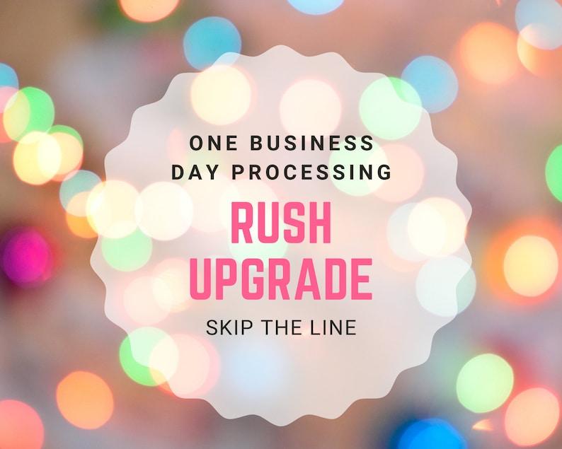 Skip The Line Rush My Job Last Minute Gift Quick Ship Gift image 1