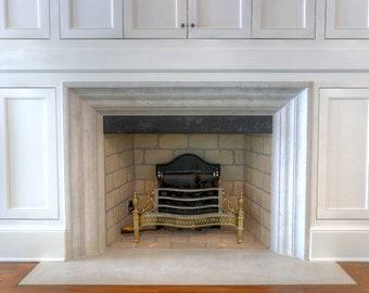 Eloise Luxury Cast Stone Fireplace Surround