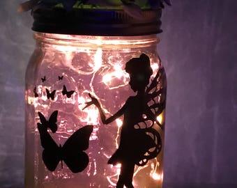 Fairy Mason Jar Light