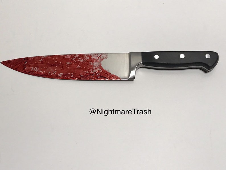 Halloween 2018 Michael Myers Knife.Halloween 2018 Michael Myers Knife Movie Style Screen Accurate 8 Blade Replica Real Stainless Steel Prop Chefs Knife Horror Props