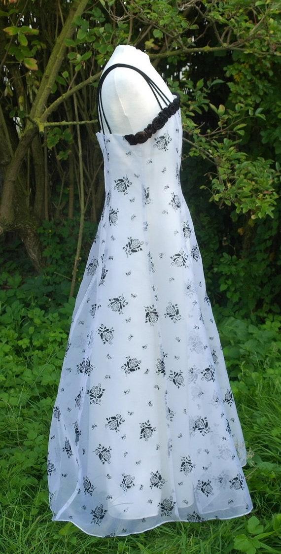 Beautiful white evening dress, prom bridesmaides,