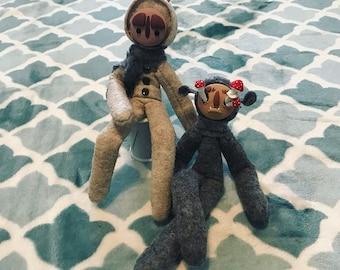 Custom Traveler Stuffed Animal