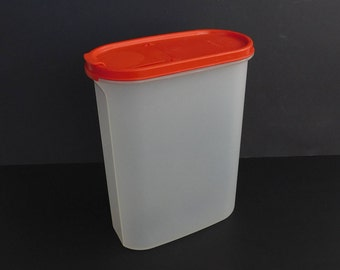 Vintage Tupperware Modular Mate No. 4, Food Pantry Storage, Tupperware Stacking Containers